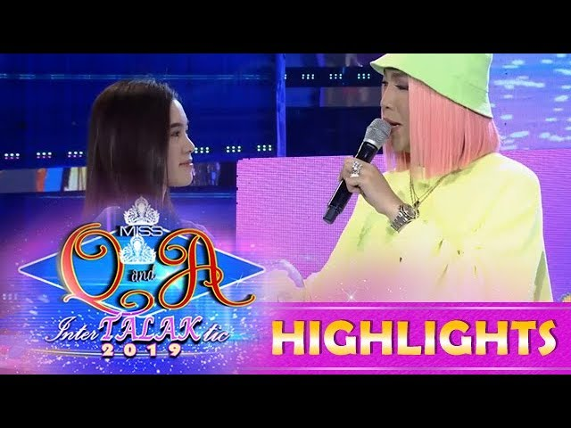 It's Showtime Miss Q & A: Vice Ganda tells Jackque to come to his future shows abroad