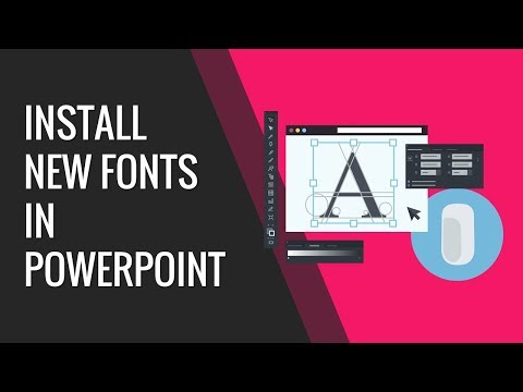 How To Install New Fonts In PowerPoint