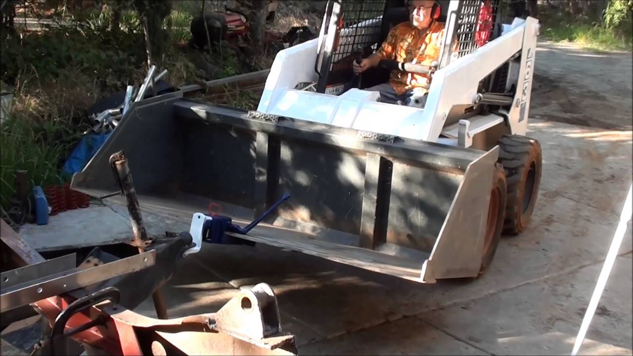 Types Of Trailer Hitches >> HITCH RECEIVER DIRRECT TO THE BUCKET INSTANT MOUNT FOR ...