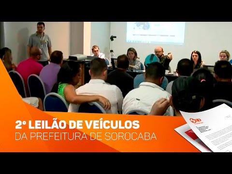 2º leilão de veículos da Prefeitura de Sorocaba - TV SOROCABA/SBT