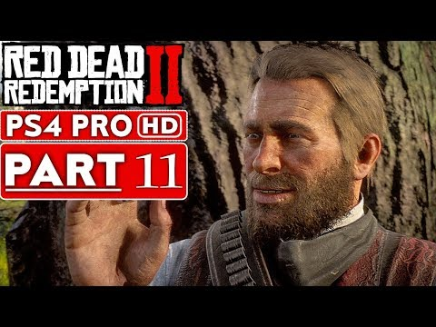 RED DEAD REDEMPTION 2 Gameplay Walkthrough Part 11 [1080p HD PS4 PRO] - No Commentary