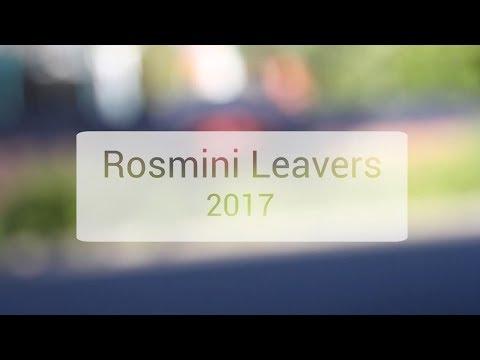Rosmini Leavers 2017