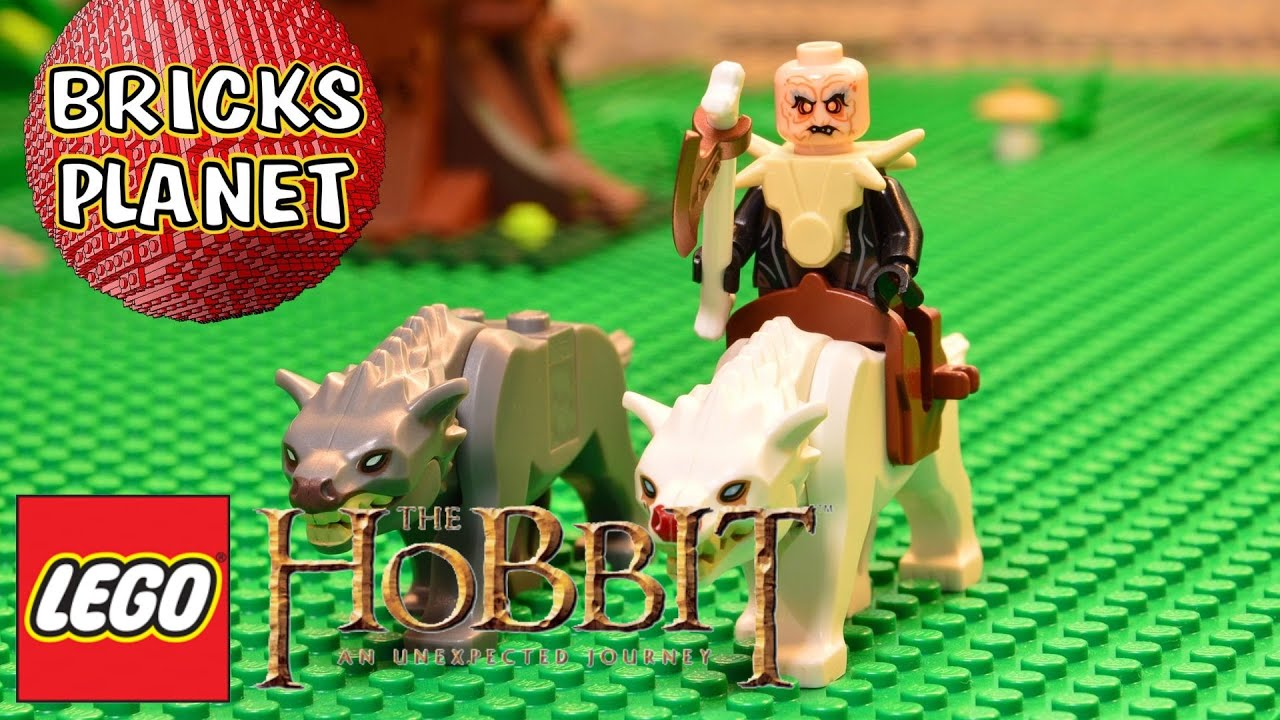 NEW LEGO YAZNEG MINIFIGURE FROM SET 79002 LORD OF THE RINGS ATTACK OF THE WARGS