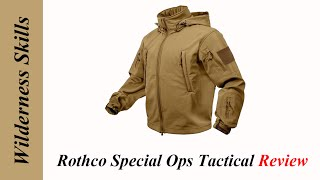 Rothco Special Ops Tactical Softshell Jacket. English Version