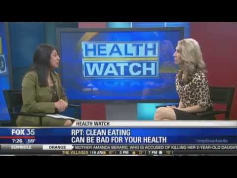 Orthorexia: Clean Eating Gone Too Far: Dr. Romie on FOX News Orlando