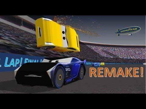 Cars 3 Remake Cruz Ramirez Beats Jackson Storm 3d