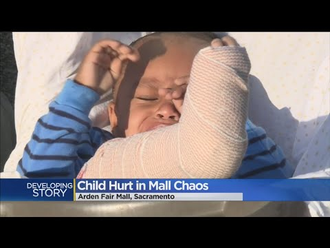Toddler Injured While Trying To Escape Arden Fair Mall Brawl