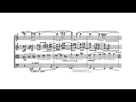Elliott Carter - String Quartet No. 1