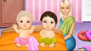 Play a Doctor Visits For Mommy & Take Care Of Twin Baby Girls, Baby Care Game For Kids And Families