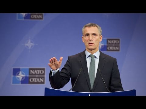 NATO Secretary General Holds News Conference in Warsaw LIVE STREAM HD FULL