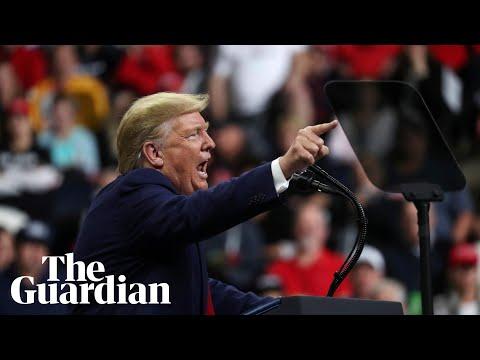 Donald Trump hits out at Bidens, Somali refugees and Ilhan Omar at Minnesota rally