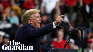Donald Trump hits out at Bidens, Somali refugees and Ilhan Omar at Minnesota rally
