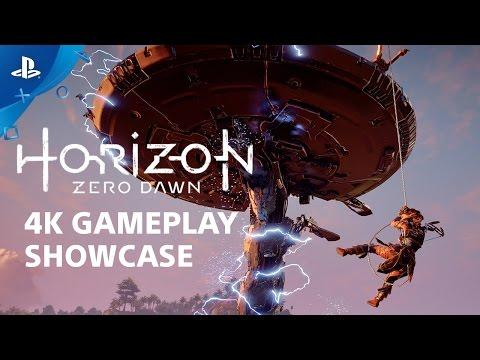 Horizon Zero Dawn 4K Gameplay Show and Tell | PS4 Pro