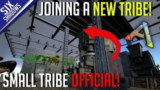 JOINING A NEW TRIBE! (got wiped)  | Small Tribe PvP Official | Ark: Survival Evolved