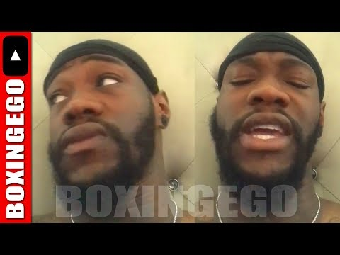 DEONTAY WILDER CLAPS BACK AT HATERS MAD HE WENT TO WHITE HOUSE FOR DONALD TRUMP JACK JOHNSON PARDON