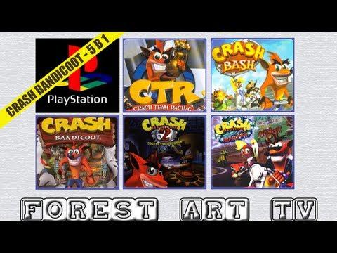 Обзор Антологии игр Crash Bandicoot для PS1 (PlayStation One)