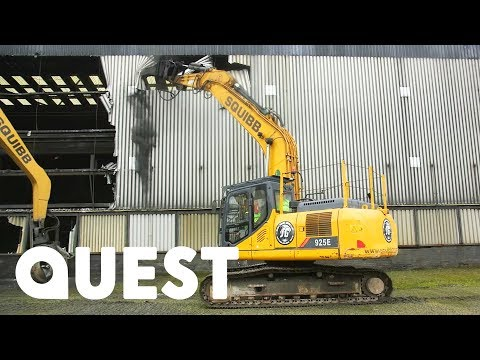 The Squibb Demolition Boys Start On An Old Anglesey Smelting Plant | Part 1 of 4 | Scrap Kings