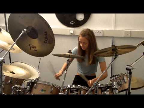 Brianstorm - Arctic Monkeys - Drum Cover - Ella Hall