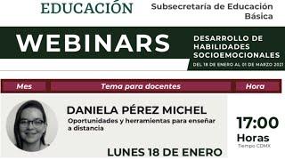 WEBINAR CAPACITACIONES A DOCENTES. OPORTUNIDADES Y HERRAMIENTAS PARA ENSEÑAR A DISTANCIA