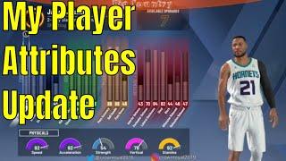 NBA 2k20 My Career _ My Player Attributes Update