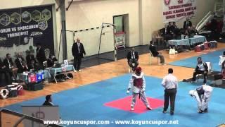 63kg Turan Erdem - Yunus Dik (2013 Turkish Senyor TKD Championships)
