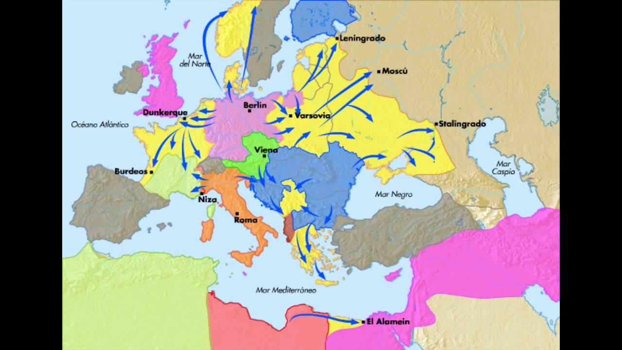 La Segunda Guerra Mundial En Europa Todos Los Frentes Y