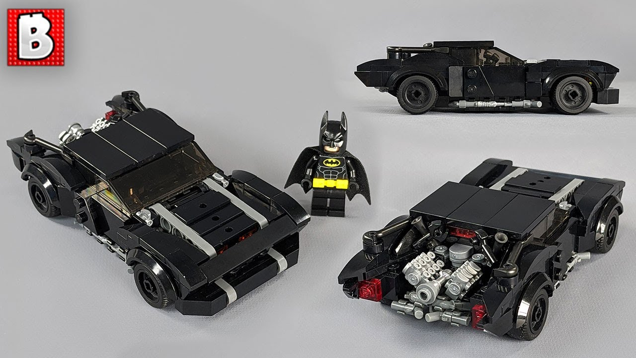 The Batman Batmobile Amzing LEGO Engine Custom Build!