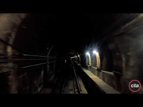 CTA's Ride the Rails: Red Line to 95th/Dan Ryan Time-lapse (