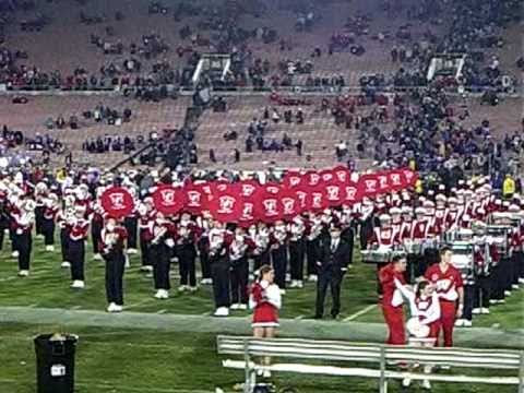 The Rose Bowl 2011 Wisconsin Badgers Band 5th Quarteron Wisconsin