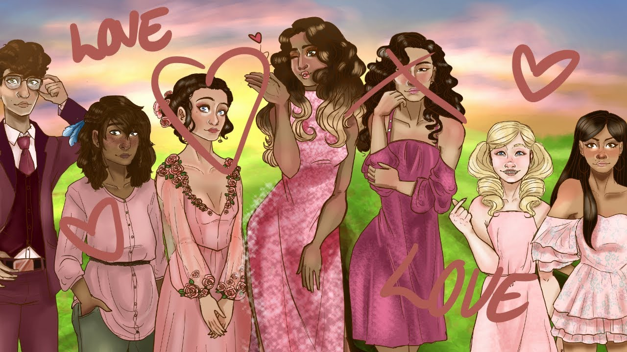 Oh right this channel exists (Aphrodite cabin speedpaint ...