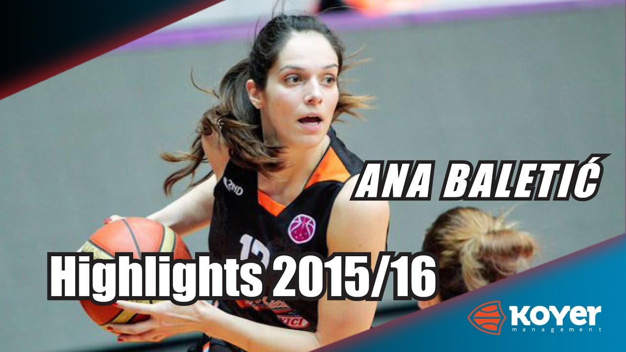 Ana Baletic - Highlights 2015/16 - YouTube