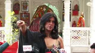 Omg! ekta kapoor angry with people exclusive