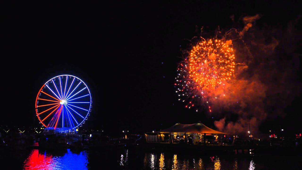 National Harbor Tree Lighting 2015 & National Harbor Tree Lighting 2015 - YouTube