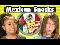Kids Try More Mexican Snacks | Kids Vs.