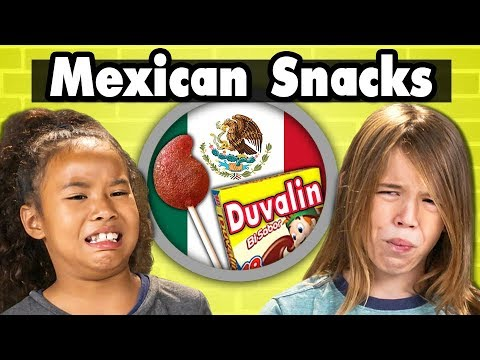 Kids Try More Mexican Snacks | Kids Vs. Food
