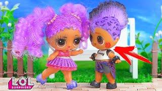 Панки и Мария поругались из-за Витчи! Мультик куклы ЛОЛ сюрприз. Сериал про любовь LOL dolls