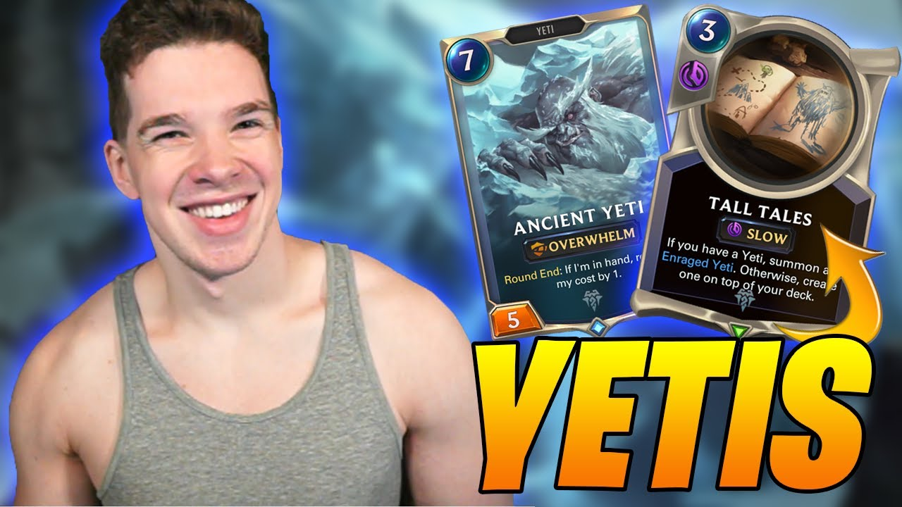 OVERWHELM and RALLY with YETIS? THICC Cheap Units | Legends of Runeterra | Controltheboard