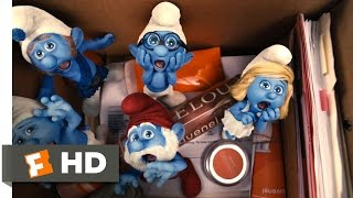 The Smurfs (2011) - Meeting the Smurfs Scene (4/10) | Movieclips
