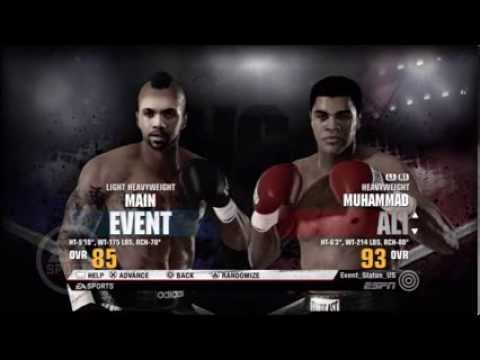Fight Night Champion: Event vs Muhammad Ali (Battle For The Greatest)