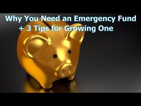 Emergency Fund Tips — 3 Ways to Help Grow Your Savings