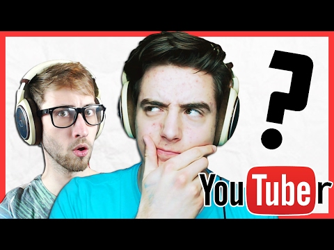 GUESS THAT YOUTUBER CHALLENGE 2! - Denis, Alex, Corl and Sketch