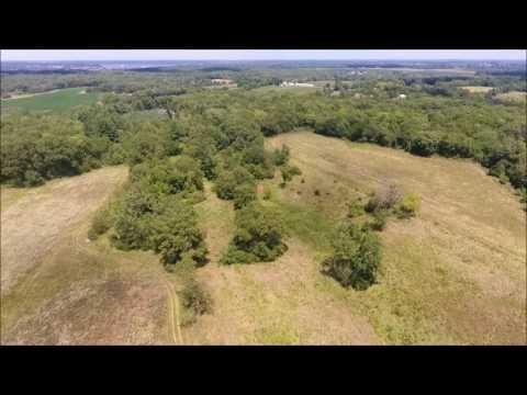 L.E. Simpson Aerial Tour - Hancock County, IL