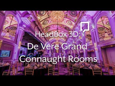 Virtual Venue Tour: De Vere Grand Connaught Rooms