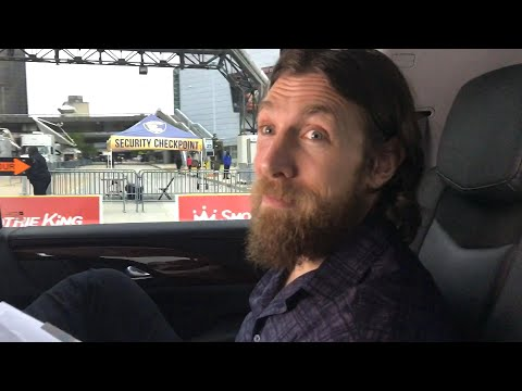 How nervous is Daniel Bryan driving to his return match?: WrestleMania Diary