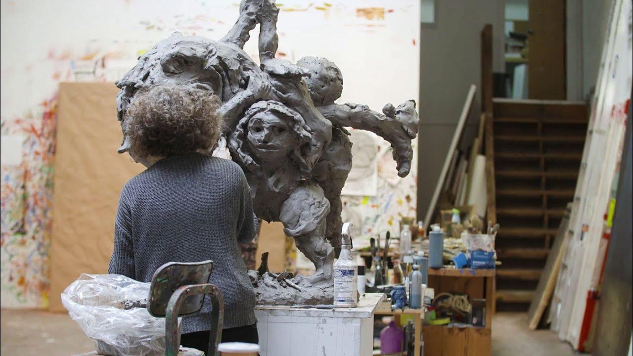 Dana Schutz Interview: The Tone of a Sculpture