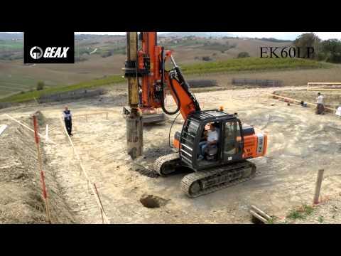 GEAX EK60LP - multi - purpose Piling Rig, drilling machine