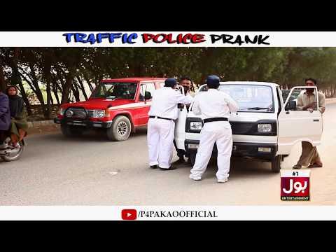 | TRAFFIC POLICE PRANK | By Nadir Ali In | P4 Pakao | 2019