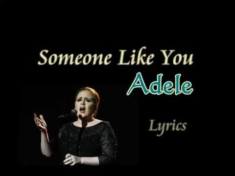 Adele - Someone Like You Lyrics and Chords On Screen HQ