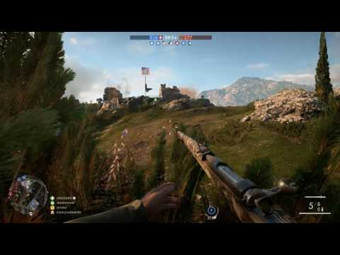 Battlefield 1 - Conquest match 98 - 1080p 60fps PC - No commentary