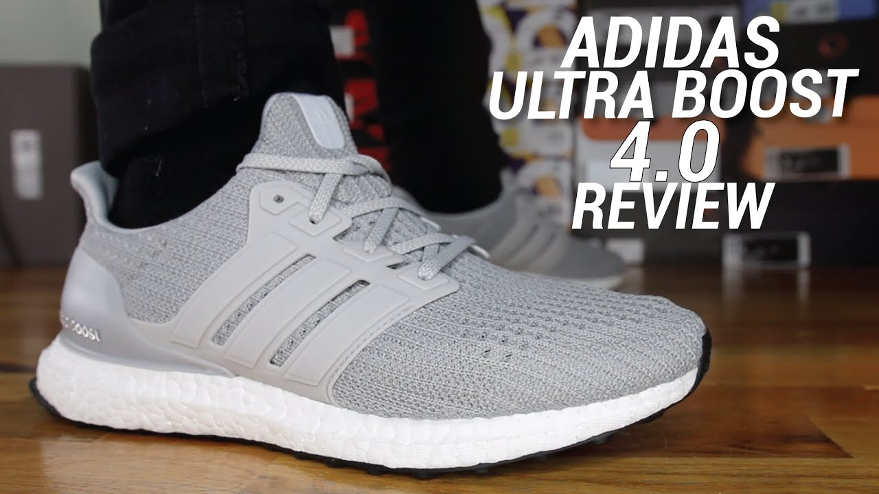 a8abac939 ADIDAS ULTRA BOOST 4.0 REVIEW - YouTube